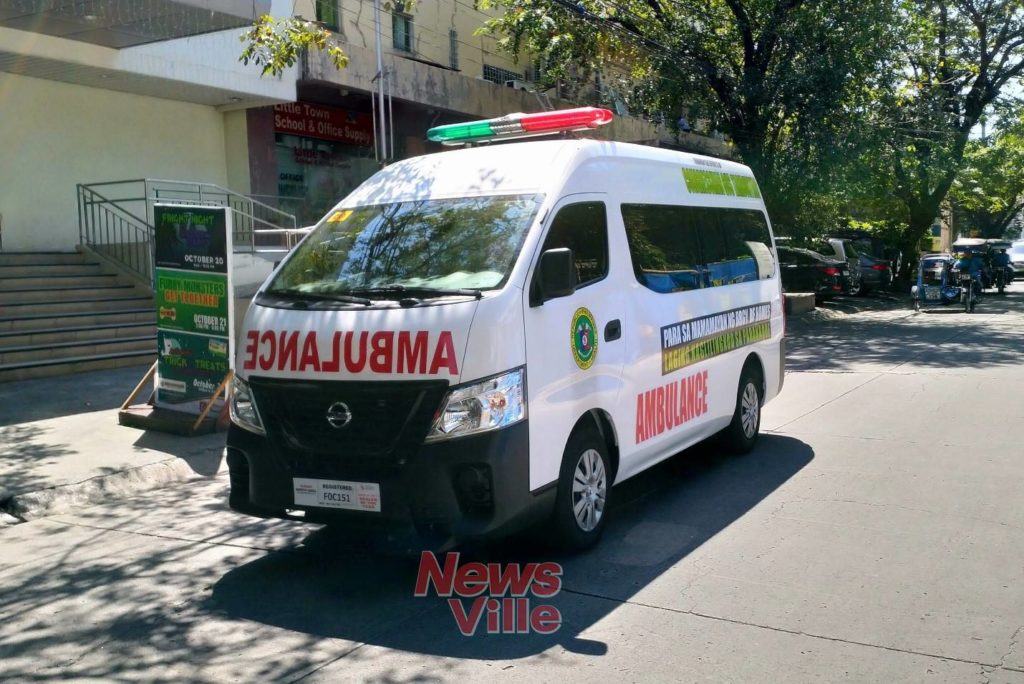 Barangay BF Homes receives brand new ambulance
